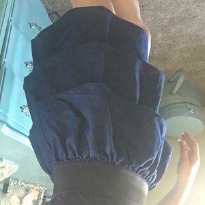 Miley Cyrus & Max Azria Dresses - Miley Cyrus Black Racerback Dress Womens Size L